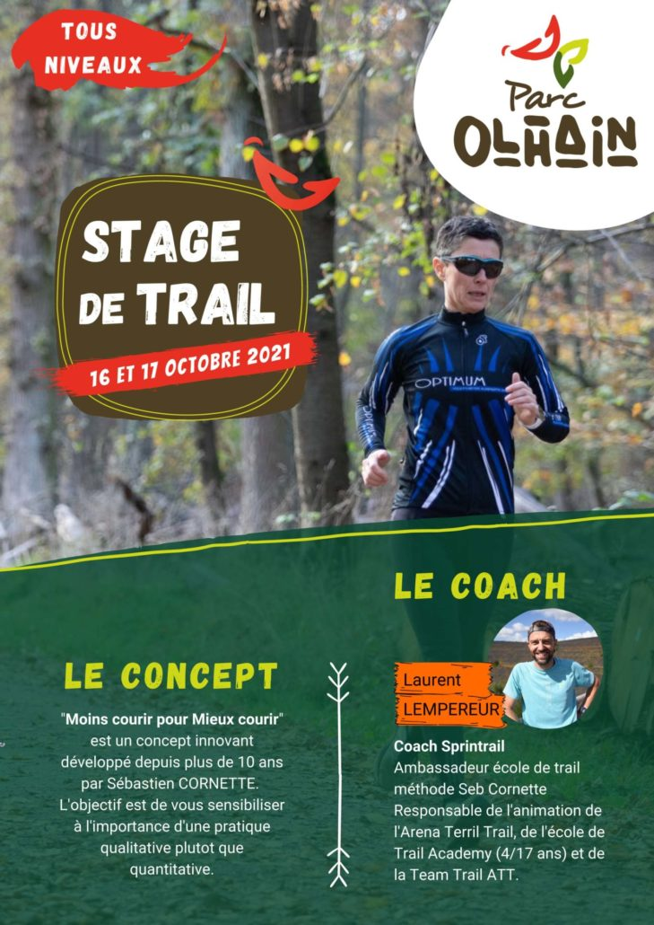 Flyer Stage De Trail